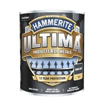 Hammerite Ultima Smooth Metal Paint - 750ml Dark Grey